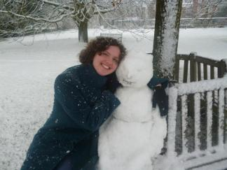 Snow-women and friend
