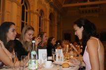 Formal hall dinner